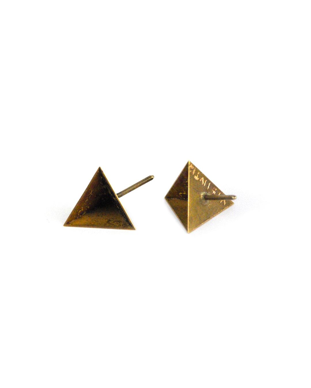 Graziano Visintin, untitled, 2010, earrings; gold, enamel, gold leaf, 7 x 7 x 7 mm, €3630