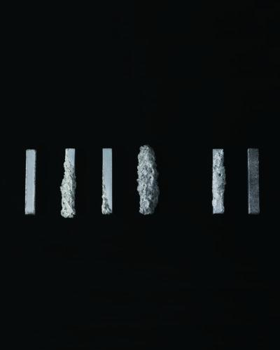 Shieri Fukushima, From Inside to Outside, 2019, brooch; aluminium ± 15 x 20 x 100 mm