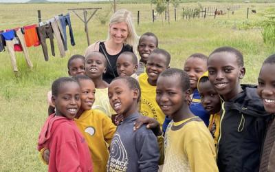 Line Sofie Apeland med til Masai Mara, Kenya