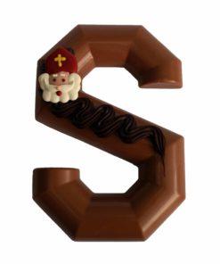 Chocolade letter melk massief