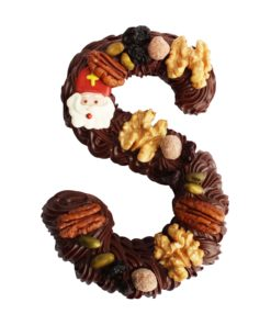 Chocolade letter puur room noten