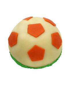 voetbal bol taart