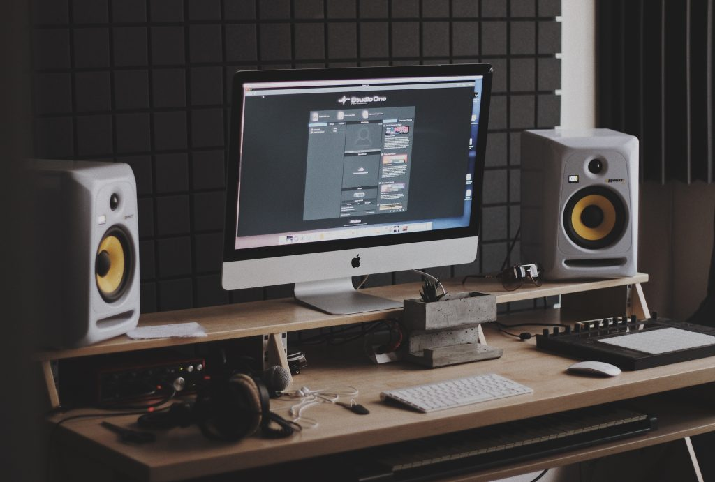 Home studio common for mixing and mastering