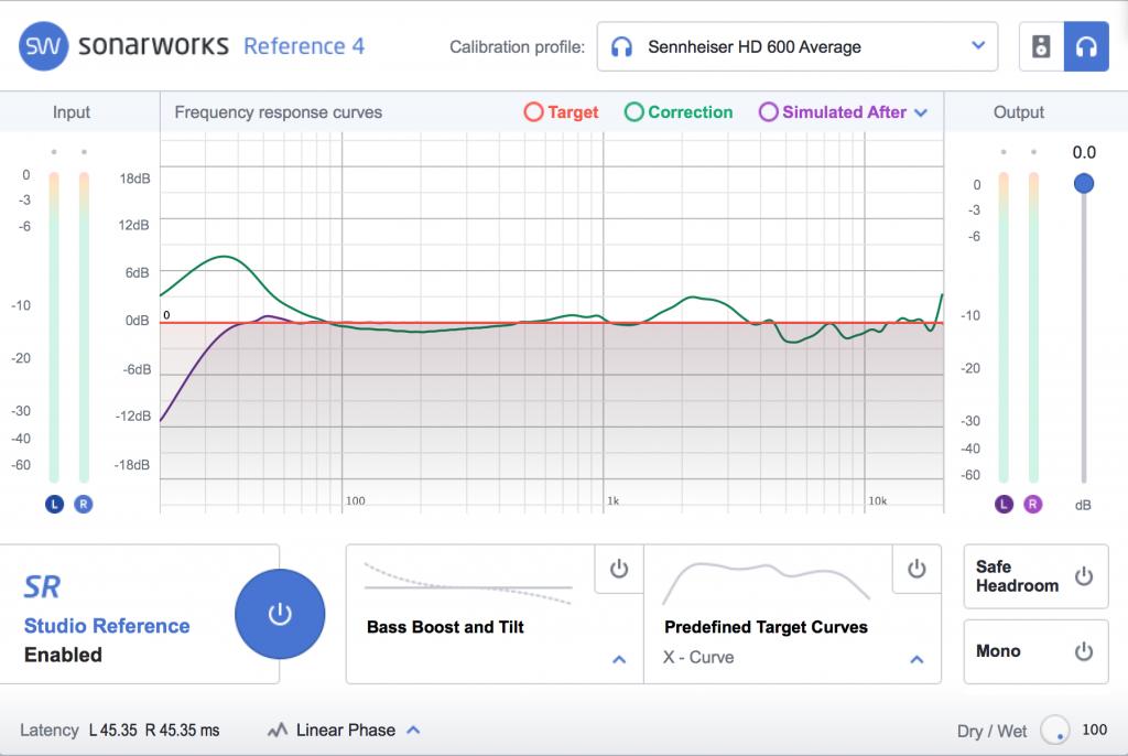 Sonarworks Reference calibration plugin