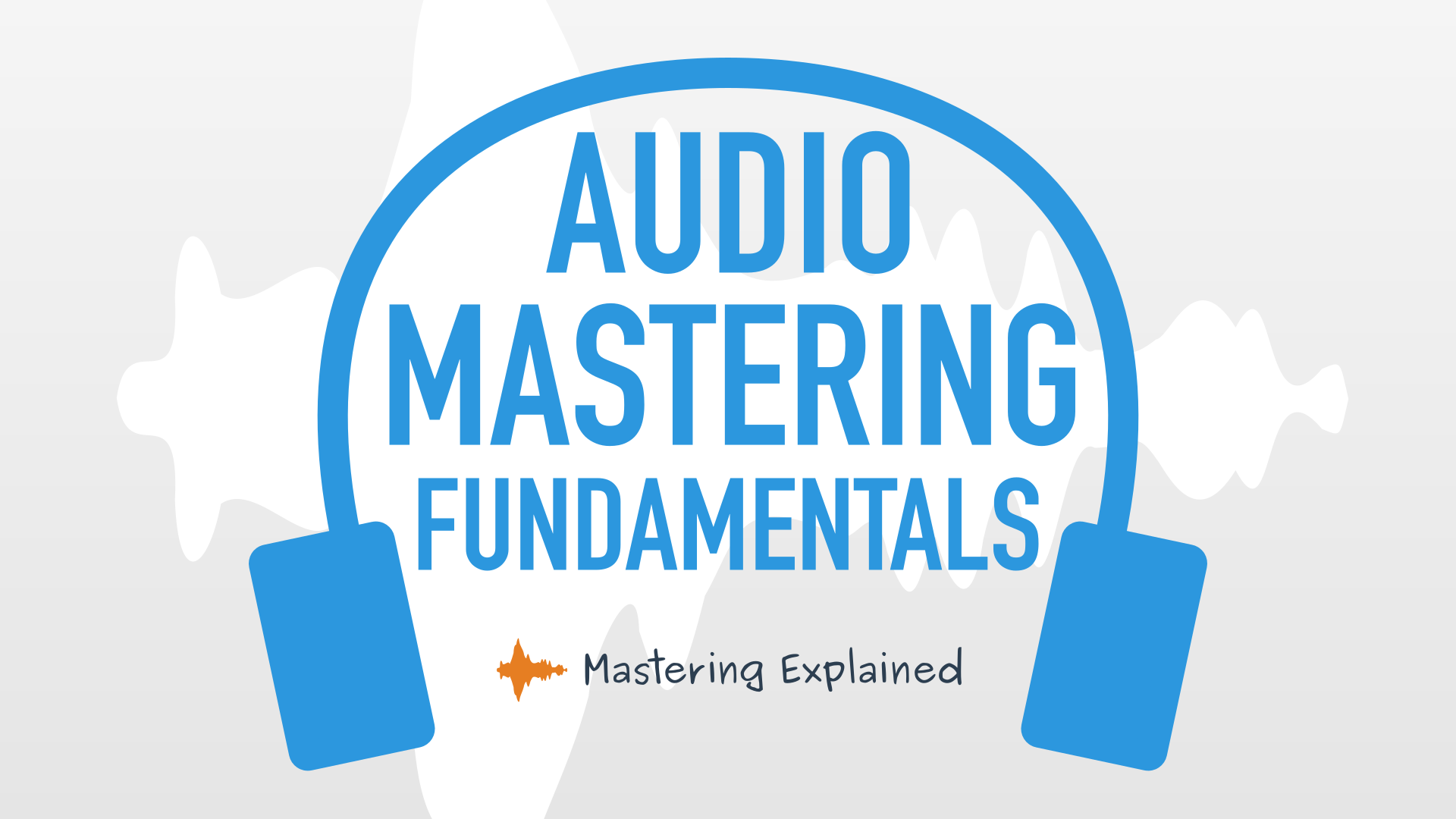Audio mastering course logo