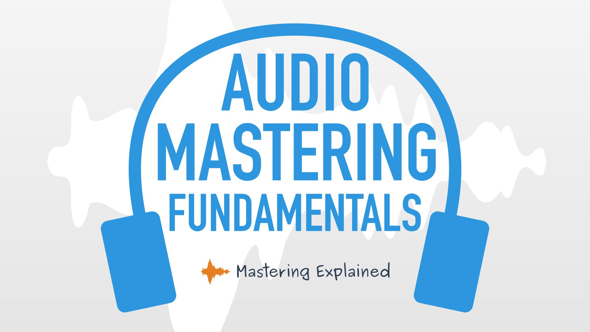 Audio mastering course logo
