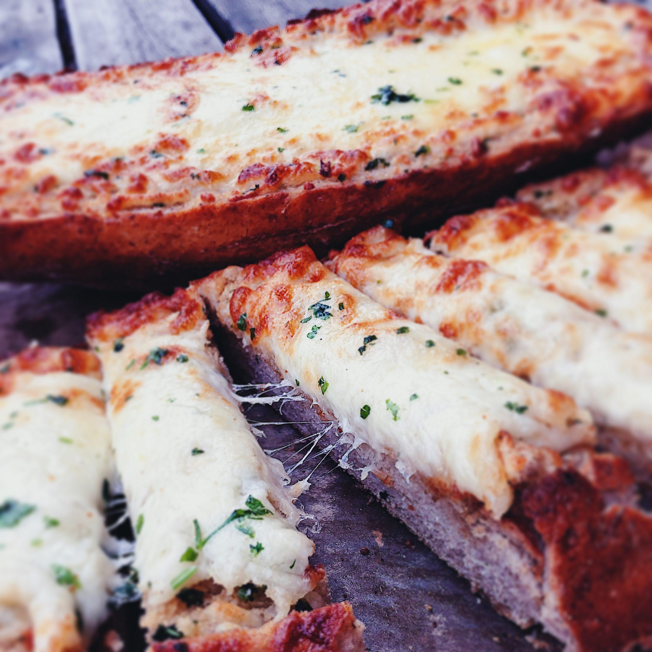 Vitlöksbröd med Mozzarella