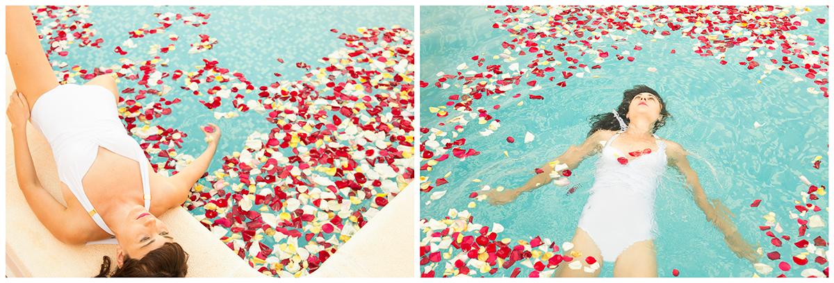 L'errance du cygne est un diptyque de photos de mises en scène mode réalisé par Mathilde Troussard avec la danseuse Ana Cembrero Coca