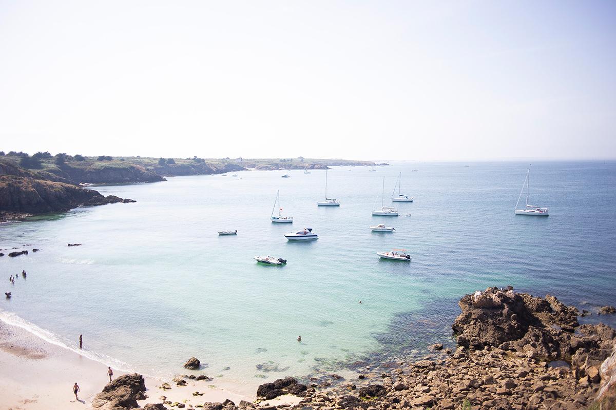 Photographie de bord de mer réalisée à Houat par la photographe Mathilde Troussard