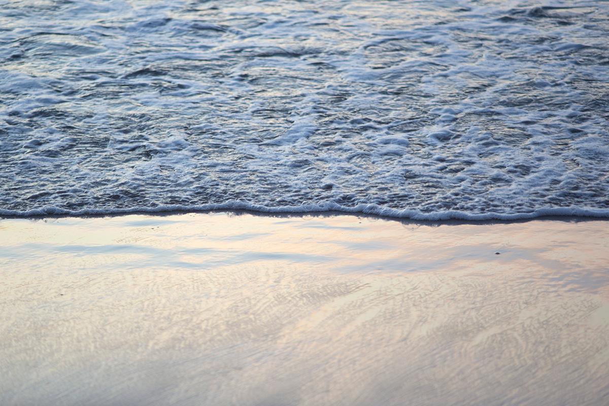 Photographie de mer réalisée à la plage des Catalans à Marseille par la photographe Mathilde Troussard