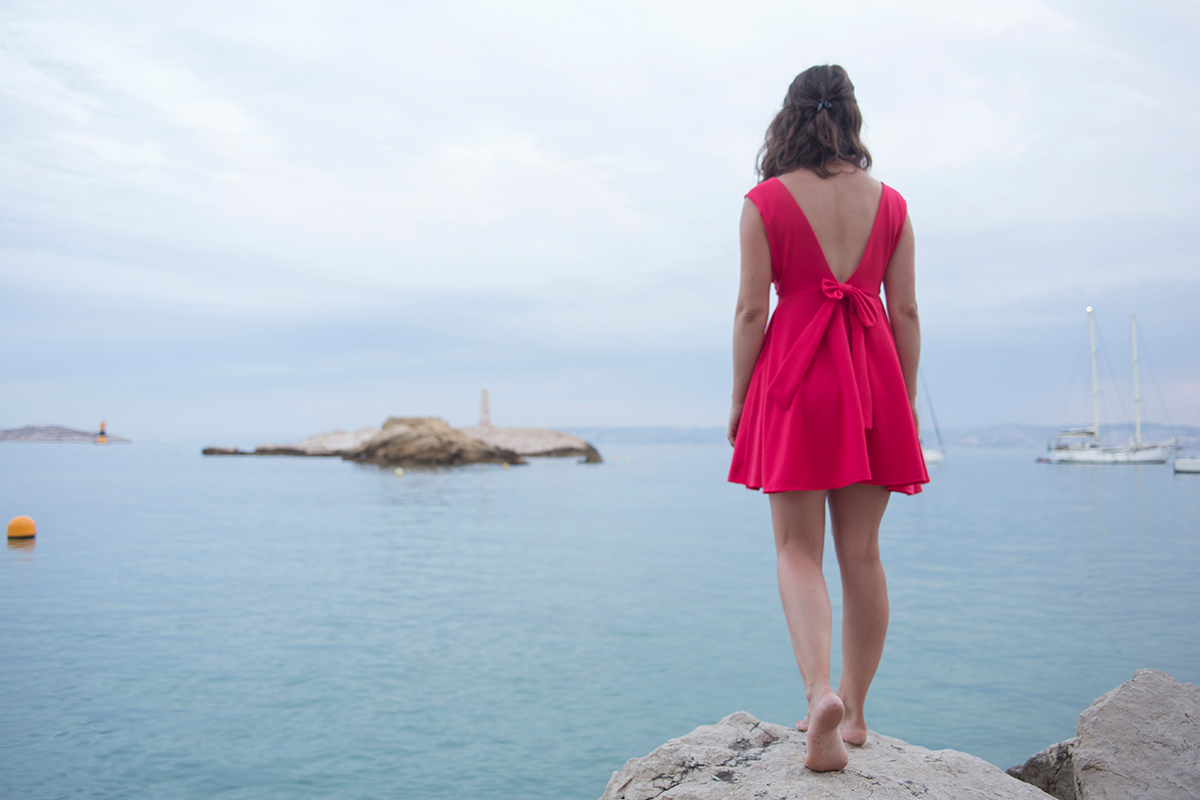 Photographie extraite de la série Summer Rendez-vous réalisée par Mathilde Troussard