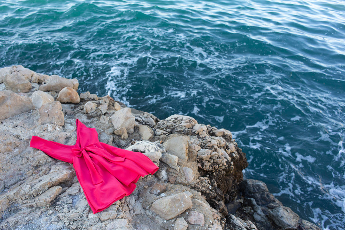 Summer rendez-vous série photographique réalisée à Marseille par l'artiste Mathilde Troussard