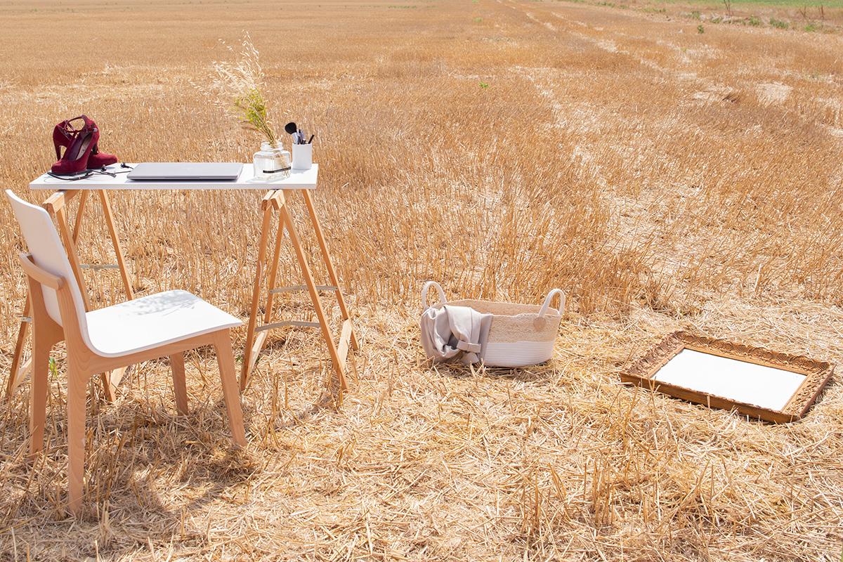 Mise en scène photographique réalisée par la Visual Storyteller Mathilde Troussard