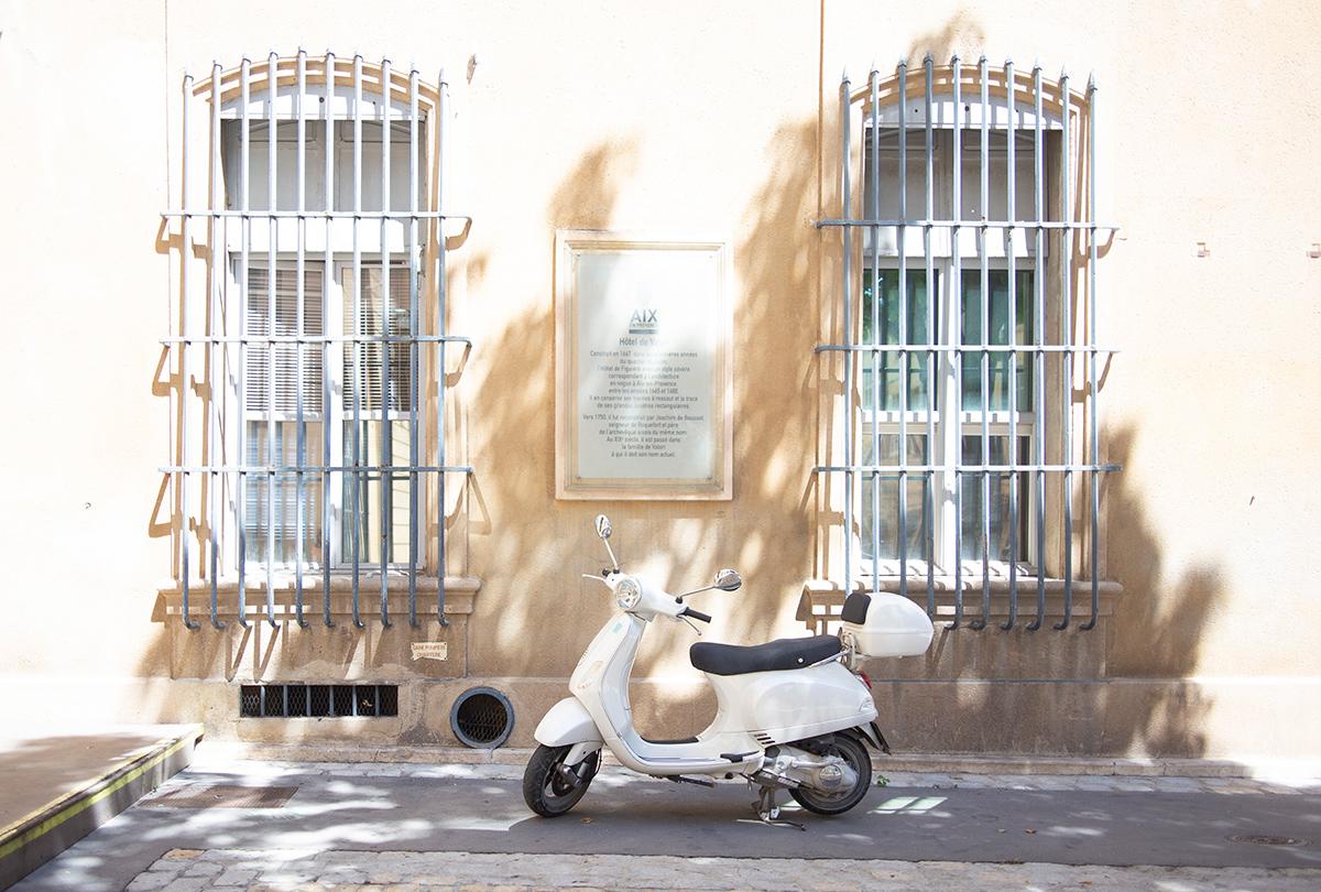 Photographie de la belle Aix-en- Provence réalisée par la Visual Storyteller Mathilde Troussard