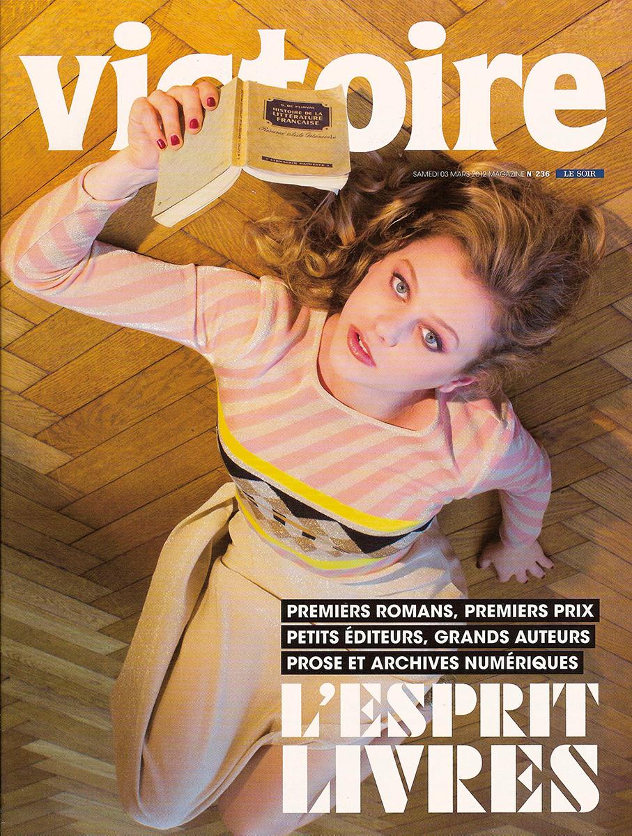 Photographie de mode de réalisée par l'artiste Mathilde Troussard  pour le magazine Victoire