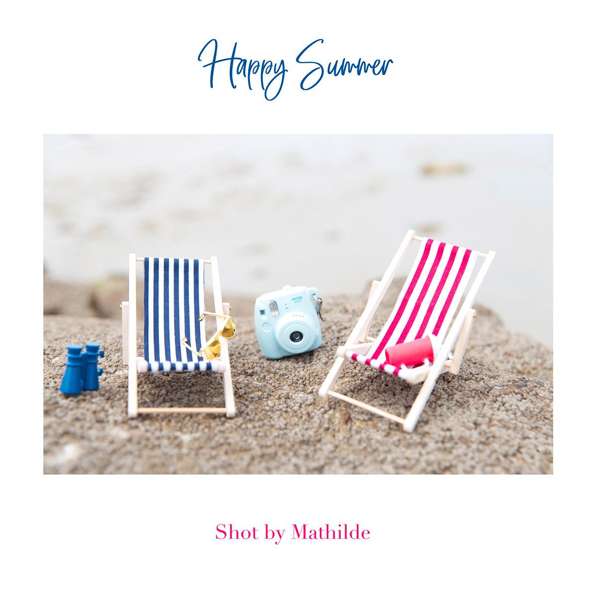 Happy Summer, mise photographique réalisée par la Visual Storyteller Mathilde Troussard
