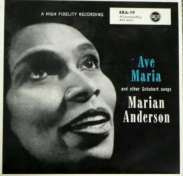 """Marian Anderson - Ave Maria And Other Schubert Songs (7"""", EP)"""