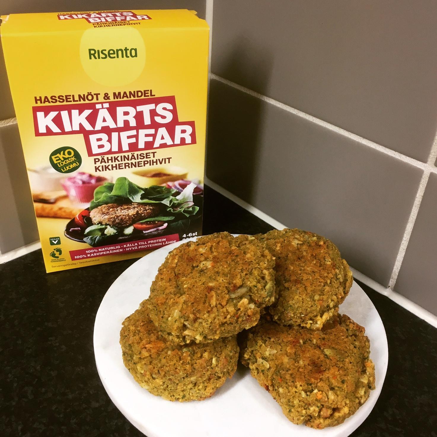 Risenta Kikärtsbiffar Hasselnöt & Mandel
