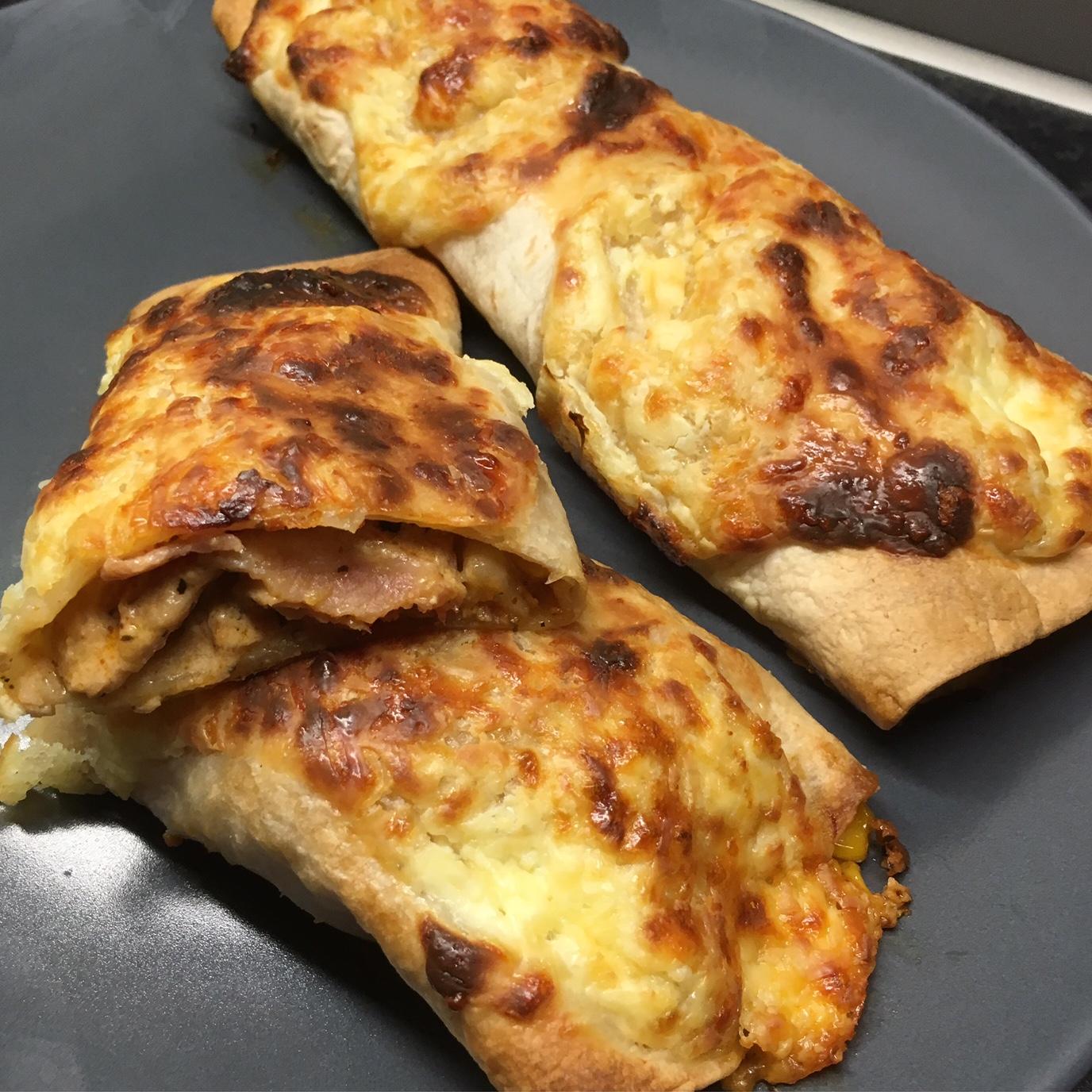 Enchiladas - Kyckling & Bacon