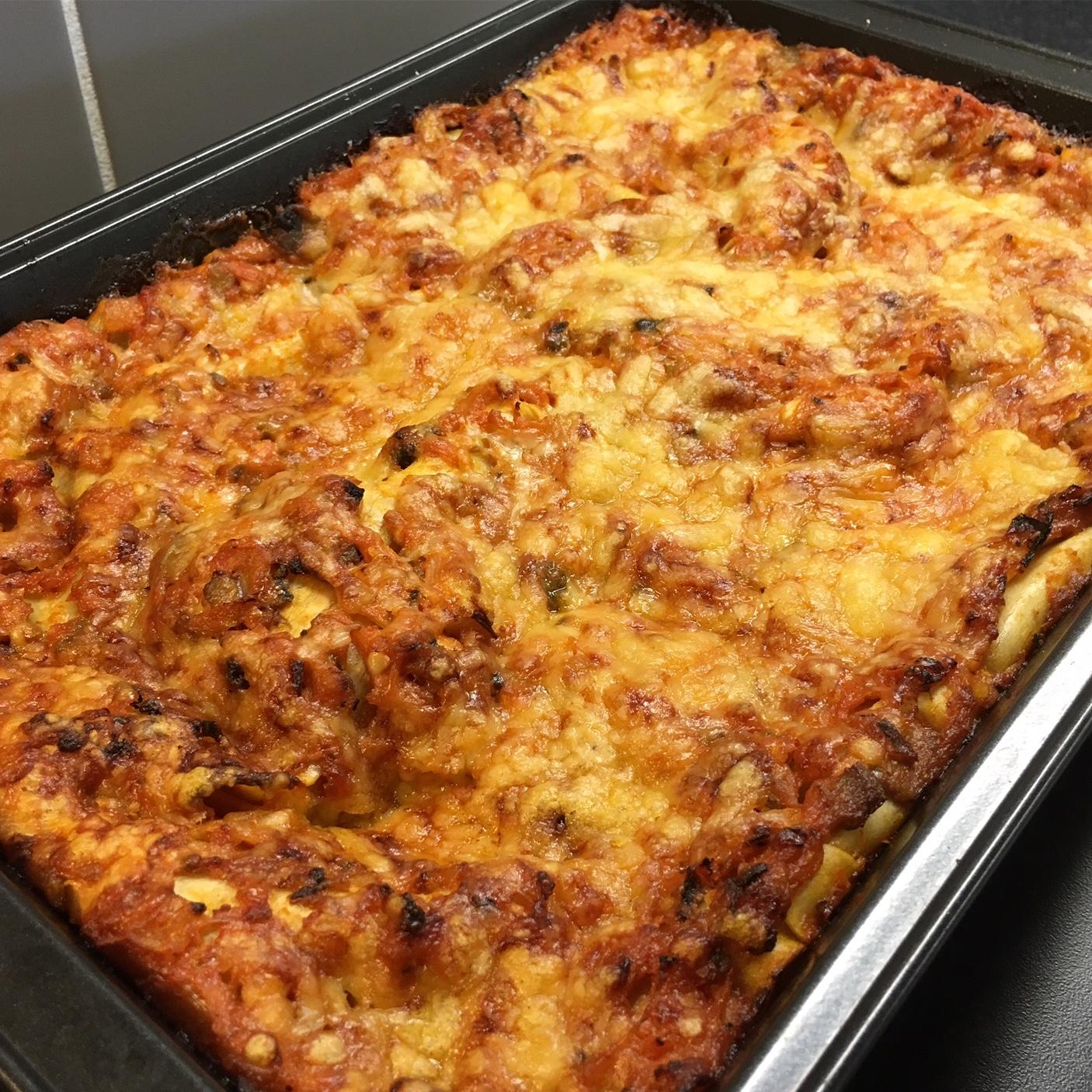 Lasagne vegetarisk (Keso)