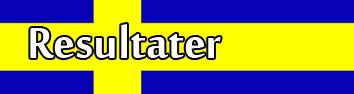 Resultater Sverige knapp