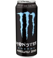 Monster Absolutely Zero Energidryck Burk