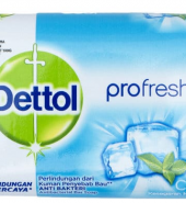 DETTOL PROFRESH COOL TVÅL 65 GRAM 5st
