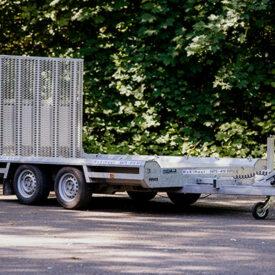 E 1146 Dubbelasser Machinetransporter 2.96 x 1.49