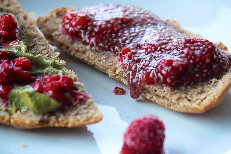 Glutenfria scones med egen gjord sylt