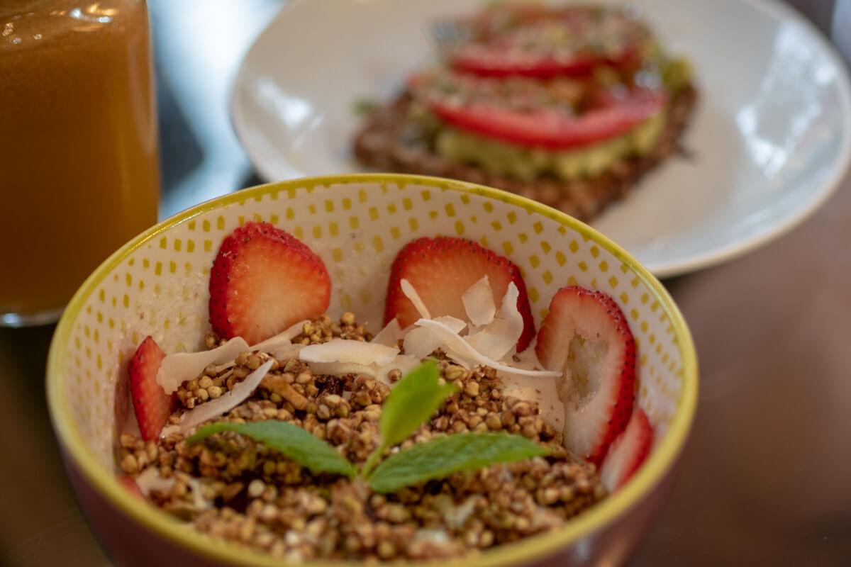 perfekta frukosten