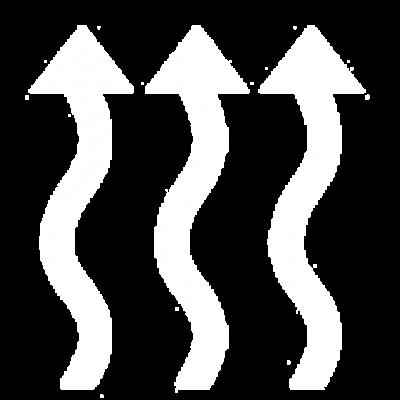 massasjestol oppvarming ikon