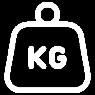 massasjestol vekt ikon