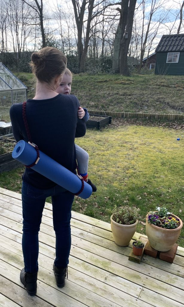 Cross body yogamåttestrop (str: stor)
