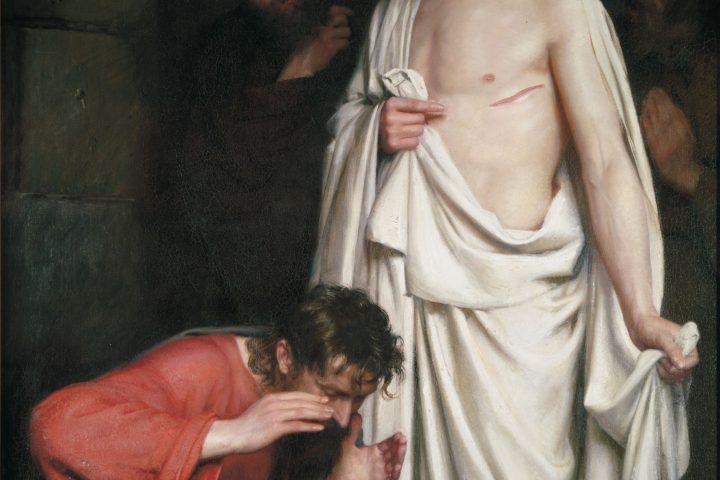 "Carl Bloch - ""The Doubting Thomas"" - 1881"