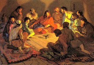 POPOV Paul (Russian classic) - The Last Supper