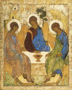 Andrei Rubliev – Holy Trinity, Abraham's Hospitality