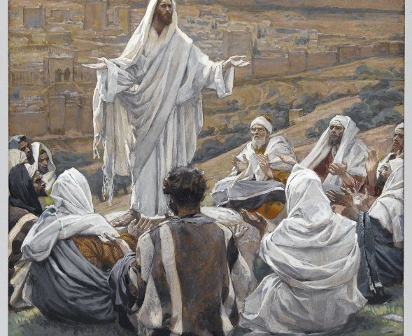 The Lord's Prayer (Le Pater Noster), by James Tissot. Brooklyn Museum - https://en.wikipedia.org/wiki/Lord%27s_Prayer#/media/File:Brooklyn_Museum_-_The_Lord's_Prayer_(Le_Pater_Noster)_-_James_Tissot.jpg