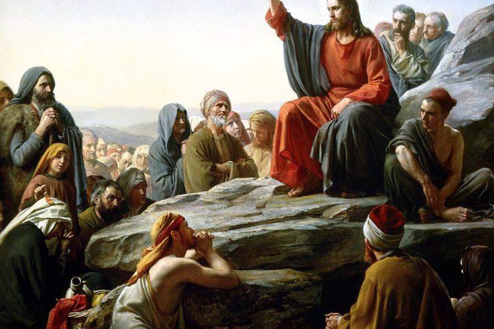 Sermon on the Mount by Carl Bloch – 1877. https://en.wikipedia.org/wiki/Sermon_on_the_Mount#/media/File:Bloch-SermonOnTheMount.jpg