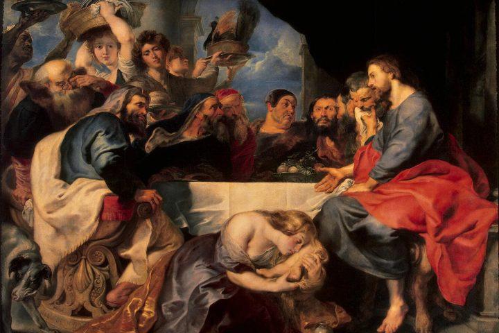 Painting: Peter Paul Rubens, Washing of Christ's Feet, 1615 https://upload.wikimedia.org/wikipedia/commons/5/58/Rubens-Feast_of_Simon_the_Pharisee.jpg