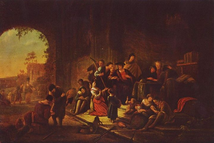 Painting: Parable of the Workers in the Vineyard, by Patrick Paearz de Wet, mid-17th century. https://en.wikipedia.org/wiki/Parable_of_the_Workers_in_the_Vineyard#/media/File:Jacob_Willemsz._de_Wet_d._%C3%84._002.jpg
