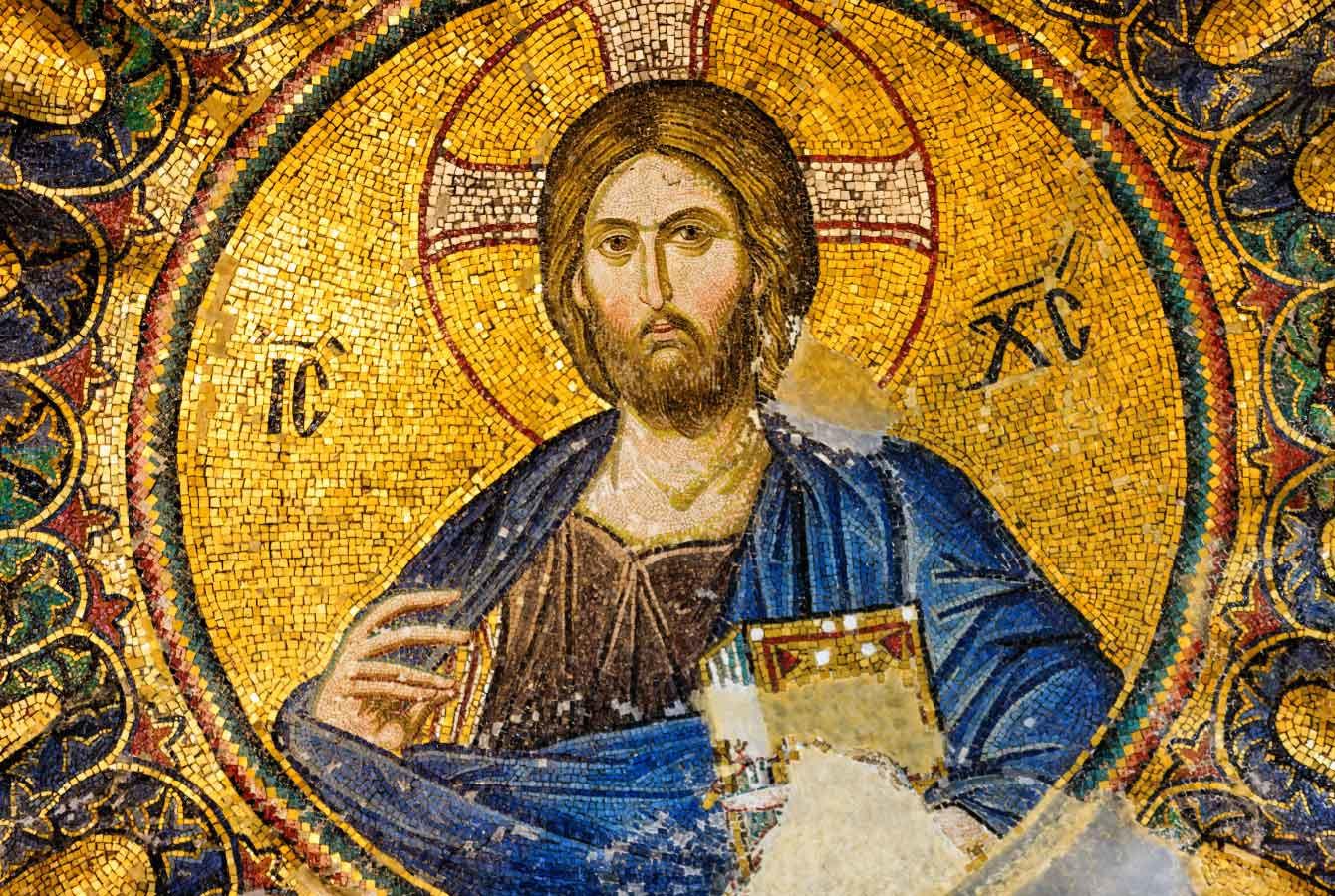 Jesus Christ, mosaic Turkey