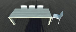 tafels op maat gemaakt