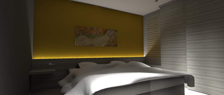 slaapkamer interieurontwerp Tessenderlo