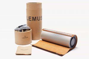 LEMUS vintage wireless 3D stereo Bluetooth speaker