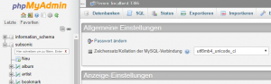 Read more about the article Subsonic mit MySQL Datenbank