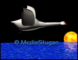 3D animated film about a swan.