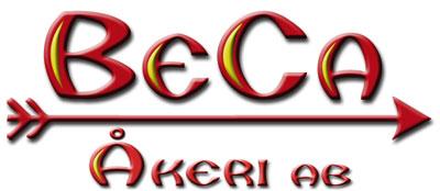 BeCa Åkeri's logotype.