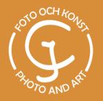 En foto och konst logotyp.