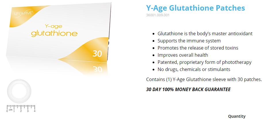 Glutathione Patch