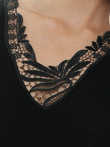 Dames hemd 1173 zonder mouwen kant